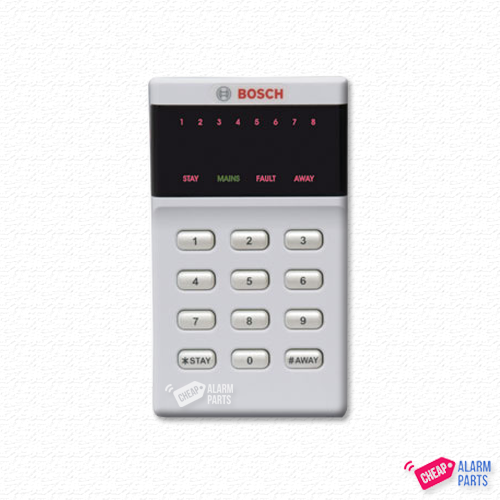 Bosch CP500AW 8 Zone LED Addressable Keypad