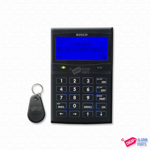 Bosch CP732B Smart Card Graphics Keypad for Solution 6000 BLACK