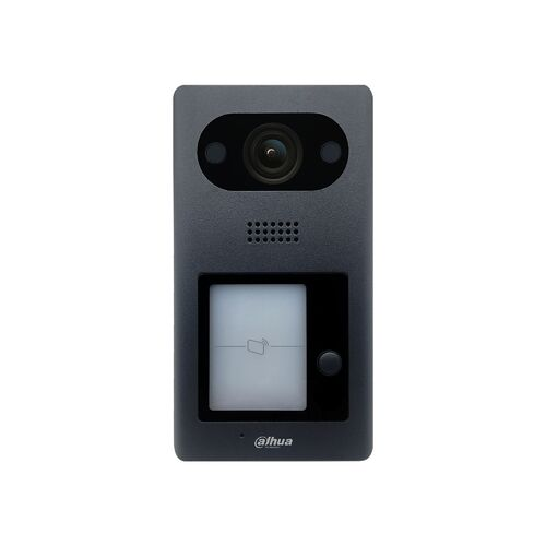 Dahua 2MP IP Villa 1 button Outdoor Station, Viewing Wide Angle 140 degree, Night vision,Mifare Card Reader