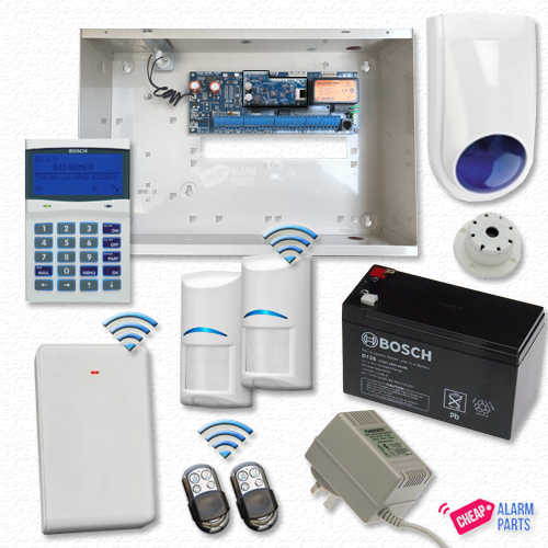 Bosch Solution 6000 IP Standard + 2x Wireless PIRs + PK/FOB