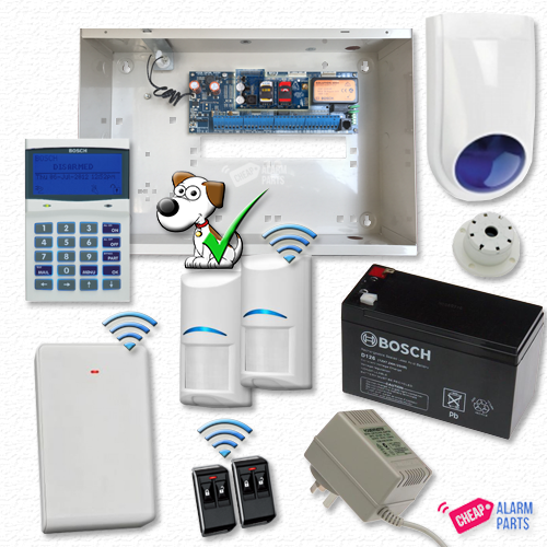 Bosch Solution 6000 3G GSM Alarm Kit with 2x Wireless Tri-Techs (Pet Proof)