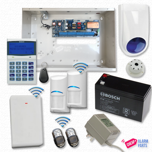 Bosch Solution 6000 3G GSM Smart + 2x Wireless PIRs + PK/FOB