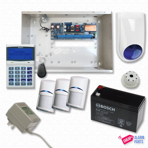 Bosch Solution 6000 3G GSM Smart + 3x PIRs