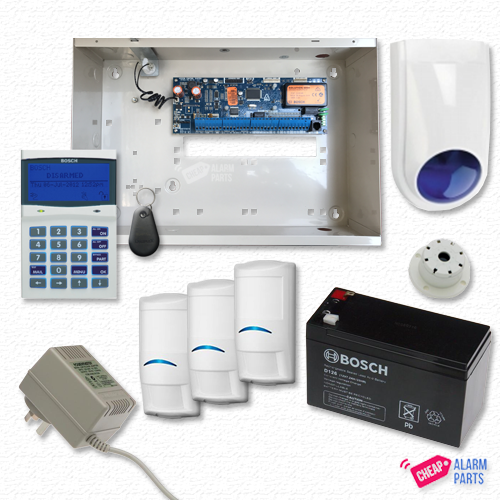 Bosch Solution 6000 Smart + 3x Pro PIRs
