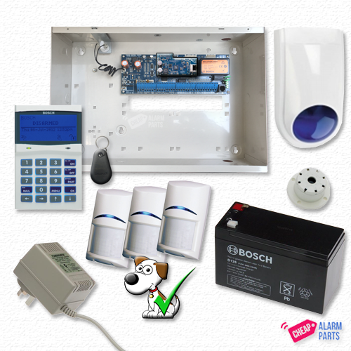 Bosch Solution 6000 IP Smart + 3x TriTechs (Pet Proof)
