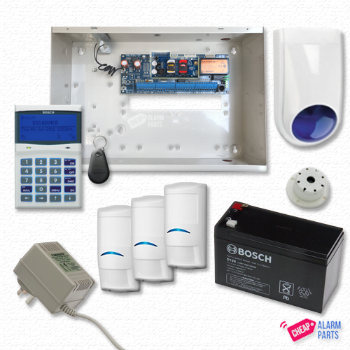 Bosch Solution 6000 3G GSM Smart + 3x Pro Tri-Techs