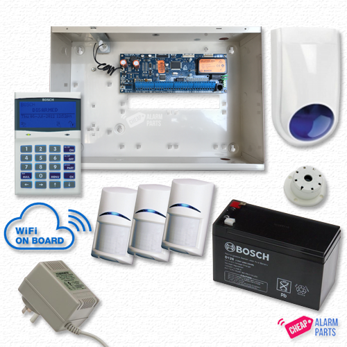 Bosch Solution 6000-WiFi Alarm Kit with 3x PIRs