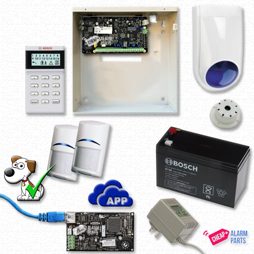 Bosch Solution 2000 IP+ 2 Tri-Techs (Pet Proof) + Icon Keypad