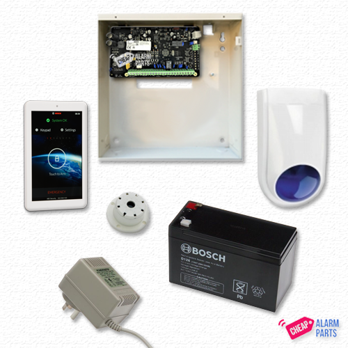 "Bosch Solution 2000 + NO DETECTOR + 7"" Touch Screen"