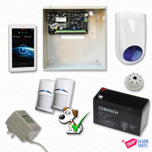 "Bosch Solution 2000 + 2 Tri-Techs (Pet Proof) + 7"" Touch Screen"