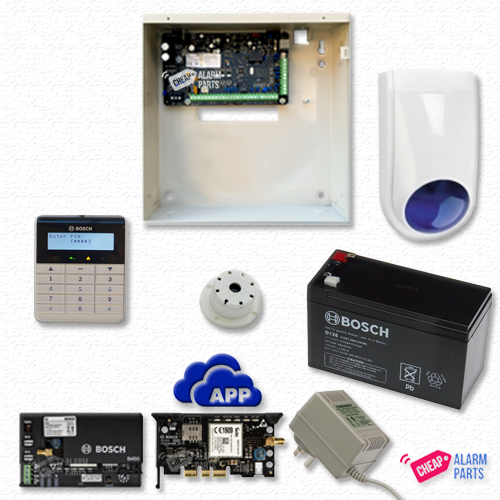 Bosch Solution 3000 GSM + NO DETECTOR + Alpha Text Keypad