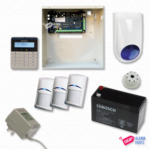 Bosch Solution 3000 + 3 PIRs + Alpha Text Keypad