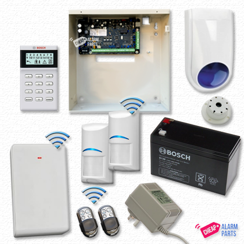 Bosch Solution 3000 + 2 Wireless PIRs + Icon Keypad + P/KFOB