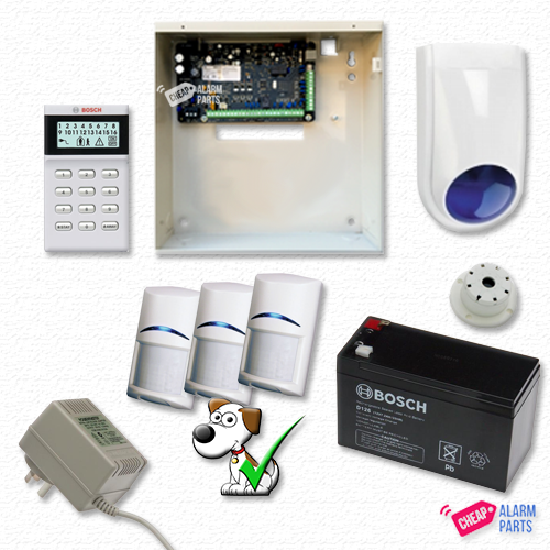Bosch Solution 3000 + 3 Tri-Techs (Pet Proof) + Icon Keypad