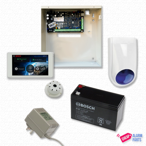 "Bosch Solution 3000 + NO DETECTOR KIT +  5"" Touch Screen Keypad"