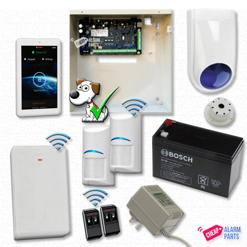 "Bosch Solution 3000 + 2 Wireless Tri-Techs + 7"" Touch Screen"