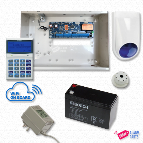 Bosch Solution 6000-WiFi Alarm with NO DETECTOR KIT