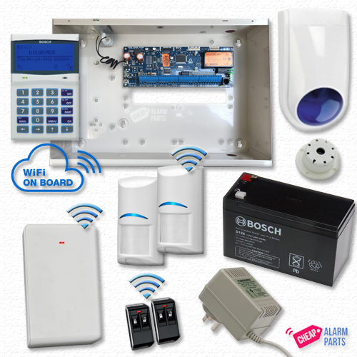 Bosch Solution 6000-WiFi Alarm Kit with 2x Wireless PIRs
